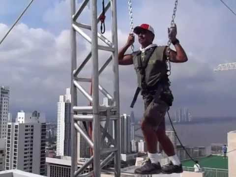 Amazing Race Panama 2011 (Behind the Scenes) Cable Cross