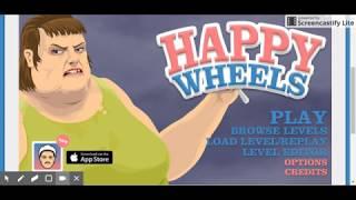 mi primer video de happy wheels