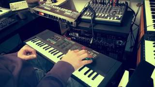Yamaha PSS-270 + Behringer Virtualizer 3D FX2000 (Dream Piano Demonstration)