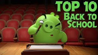 Angry Birds - Top 10 Angry Birds Back To School Moments