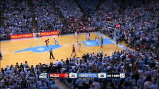 2015.02.24 NC State Wolfpack at #15 North Carolina Tar Heels Basketball