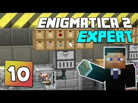 Enigmatica 2: Expert Mode - EP 10 | Cable hiding & Dust