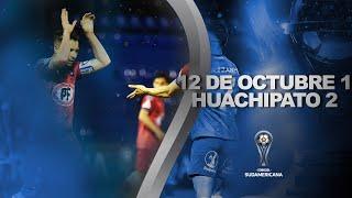 12 de Octubre vs. Huachipato [1-2] | RESUMEN | Fecha 4 | CONMEBOL Sudamericana 2021
