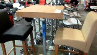 Bar Tables, Bar Furniture, Trinidad-bar-table-with-2-chairs.mpg
