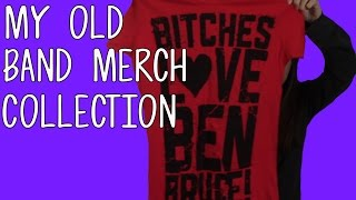 My Old Band Merch Collection! (Asking Alexandria, Pierce The Veil, and More!) | Meeks