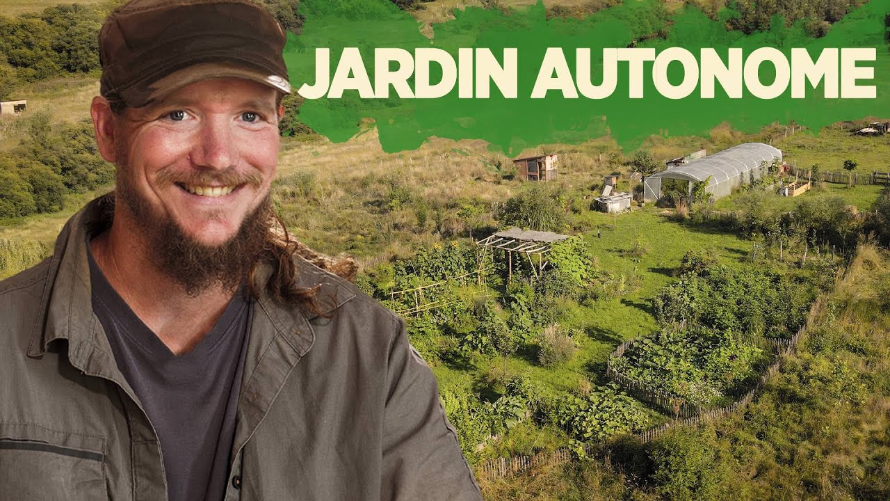 Créer un JARDIN AUTONOME avec Damien Dekarz - (Permaculture & Agroécologie)