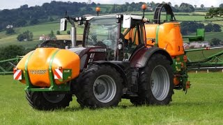 Mid Devon Show Farm Machinery Demonstration