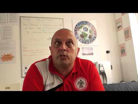 UK Soccer Academy - EduKick partner, Dave Bailey Interview: Accrington Stanley FC
