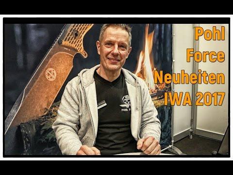 Pohl Force Neuheiten Vorstellung auf der IWA Messe Nürnberg 2017