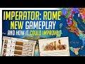 Imperator: ROME New Gameplay Breakdown &