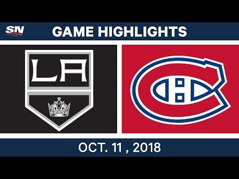 NHL Highlights | Kings vs. Canadiens - Oct. 11, 2018