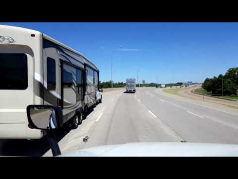 Bigrigtravels Live! Wichita Falls,  Texas to Memphis,  Texas US Highway 287 August 13, 2016