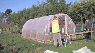 How to Build a Polytunnel, Ireland | Stop Motion