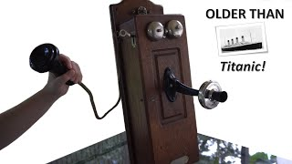 What's inside a 113 year old Hand Crank Telephone?