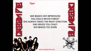 Cream Pie - Tiger (w/lyrics) Thumbnail