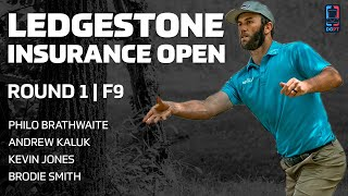 2020 LEDGESTONE INSURANCE OPEN | RD1, F9 | Brathwaite, Kaluk, Jones, Smith | Gatekeeper Media