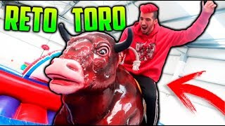 EL RETO DEL TORO MECANICO!! RETO EXTREMO thumbnail