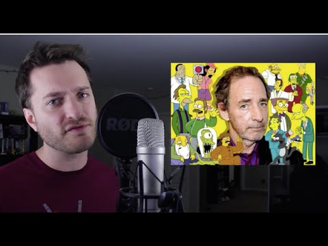 Brock Baker Replacing Harry Shearer on The Simpsons?!? | What