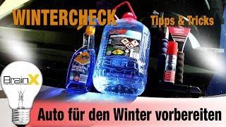 Auto für den Winter fit machen - Tipps und Tricks Wintercheck