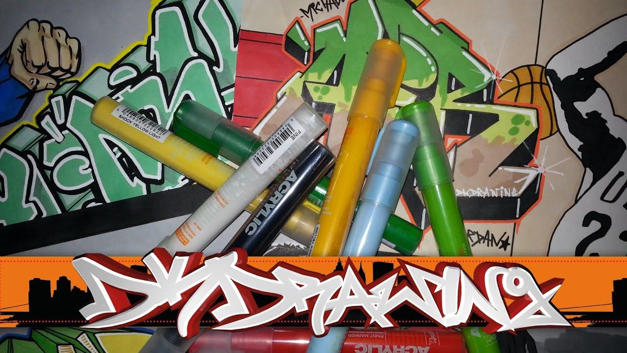 Graffiti Marker Review 3  Montana Acrylic Paint Marker