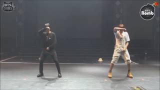 jimin e jungkook dançando na sua cara