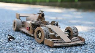 How to make Amazing F1 Racing Car(Ferrari) - Ca...