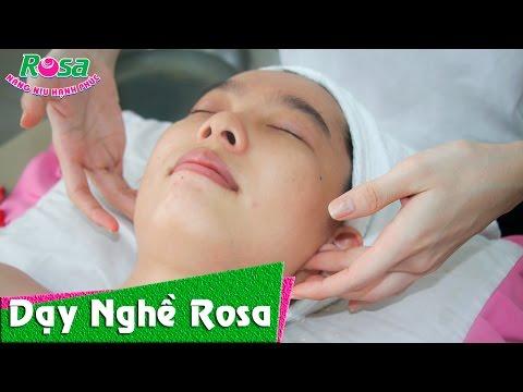Kỹ thuật massage mặt thư giãn, săn sóc da cho chị em phụ nữ