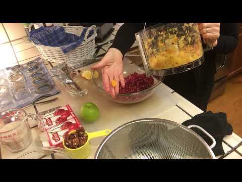 Catt the Dancing Vegan: Cranberry Salad