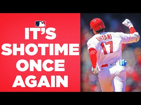 SHOHEI OHTANI CANNOT BE STOPPED! (Shohei ties for the lead league in home runs with 23)