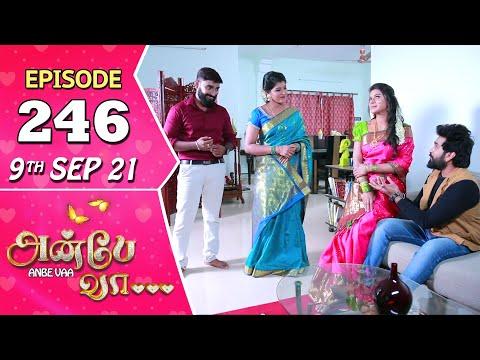 Anbe Vaa Serial | Episode 246 | 9th Sep 2021 | Virat | Delna Davis | Saregama TV Shows Tamil