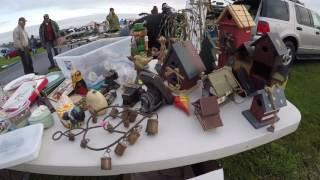 Flea Market Adventures on a Rainy Day Buy Buy Buy