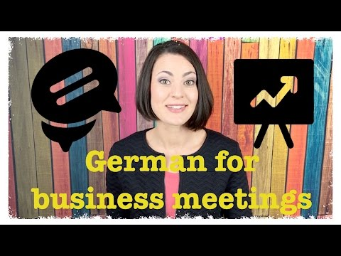 REAL GERMAN FOR BUSINESS TRAVELERS 5 - Phrases for Business Meetings | #RealGerman