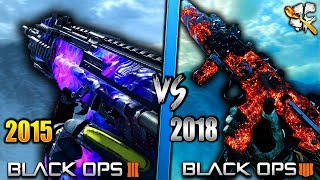 Black Ops 3 Dark Matter VS Black Ops 4 Dark Matter! Which is BETTER?