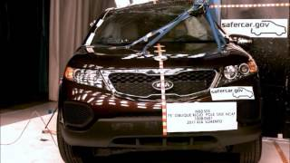 2011 Kia Sorento MB0505 NCAP Pole Impact (6.8.10)