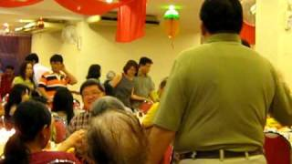 Uncle Hung Singing Happy Birthday Song Cantonese Version