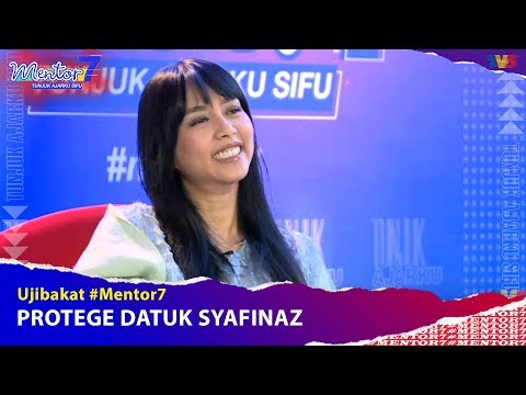 Ujibakat Mentor : Protege Datuk Syafinaz   #Mentor7