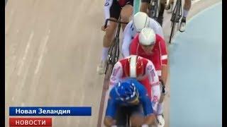 Роман Тишков занял второе место на этапе Кубка мира по велоспорту на треке