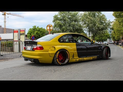 Tuner cars leaving Car show | Pro Art CarShow 2018