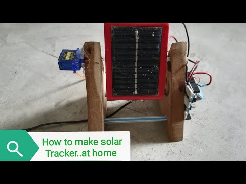 How to Make Solar Tracker Using Arduino and Servo Motor: 4 Steps