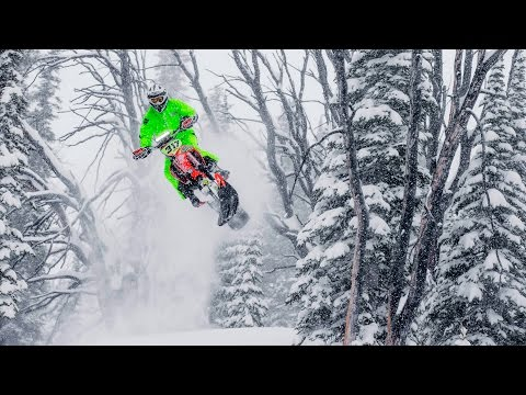 The Evolution of Backcountry Snowbiking