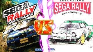 Sega Rally Online Arcade (AKA Sega Rally 3) Vs Sega Rally 2