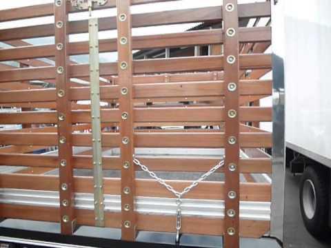 Carrocer as panamericana carrocer a de lujo para camioneta - Estacas de madera para cierres ...