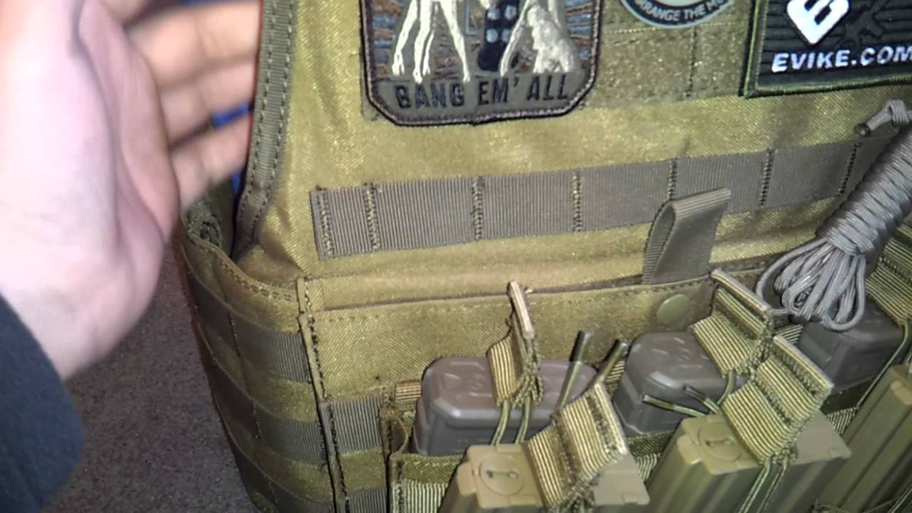 New plate carrier and set up - YouTube