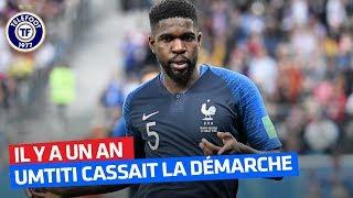 Le SHOW Umtiti après France - Belgique (10 juillet 2018)