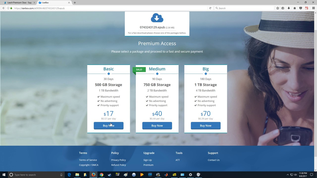**2019 Update** How to download icerbox | How to download paid file hosting  site files