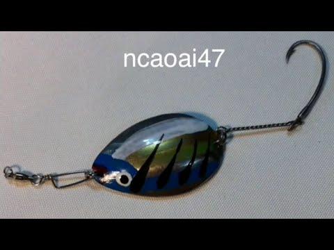 How To Make Spoon Lure (1)DIY- Lure Fishing Tips - Làm Thìa Lure