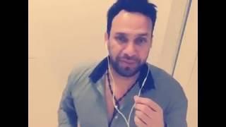 شاب من العراق يغني مع شاب من المانية بعد ماريد تبجين