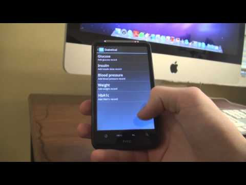 Diabetes Management Application For Android