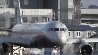 Red Wings Tu-204 взлет чартер WZ 9649 Внуково taxi takeoff UUWW(RA-64020 Red Wings Tupolev Tu-204-100 c/n 1450743164020 l/n 020, takeoff runway 19 VKO / UUWW charter flight RWZ 9649 Moscow - Istanbul. Взлет ..., 2012-04-10T23:18:28.000Z)
