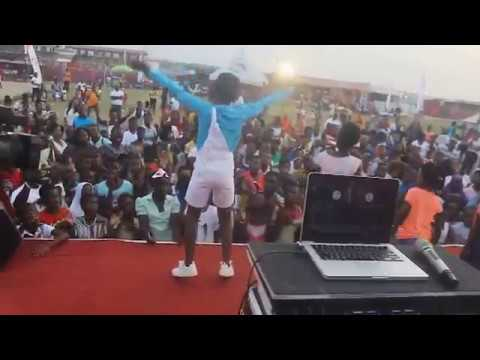 DJ Switch Ghana Hilarious Display At Takoradi